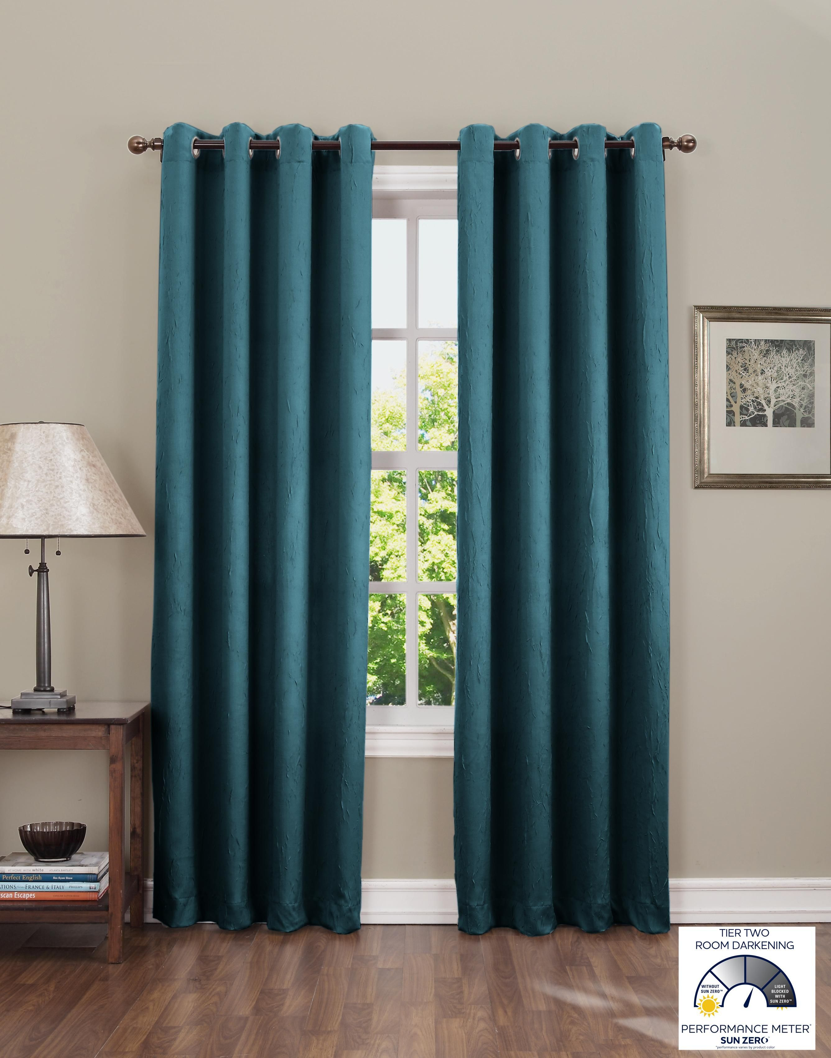 daydreamro darkening kitchen tool eclipse no rods curtain medium room curtains com living rod of size