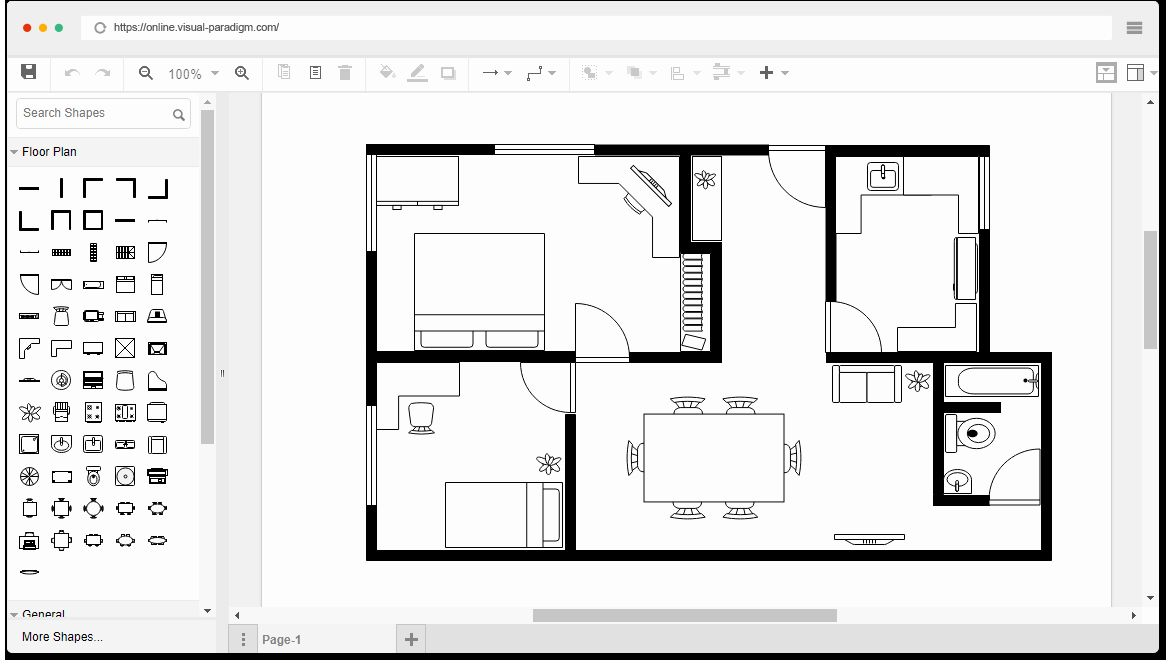 Powerpoint Floor Plan Template Luxury How To Make A Floor Plan In Microsoft Powerpoint Free Floor Plans Simple Floor Plans Floor Plan Creator