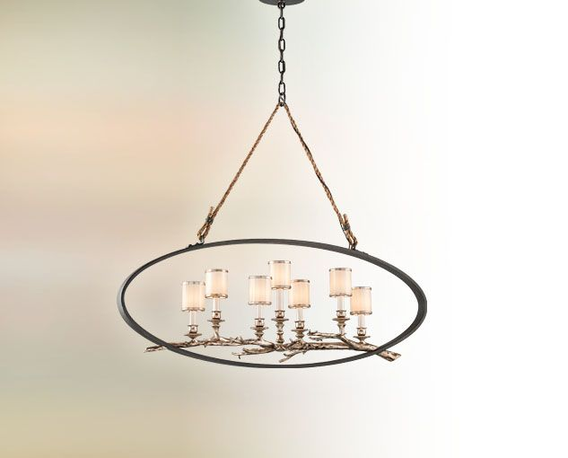 Troy-CSL Lighting Inc.  Interior Hanging / Drift / F3447 / 7  sc 1 st  Pinterest & Troy-CSL Lighting Inc. :: Interior Hanging / Drift / F3447 / 7-60W ...