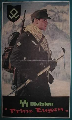 Waffen SS  ✠ 8 SS KAVALLERIE DIVISION'Florian Geyer ~ One of my uncle's, my mom's brother, was in the Prinz Eugen Division.