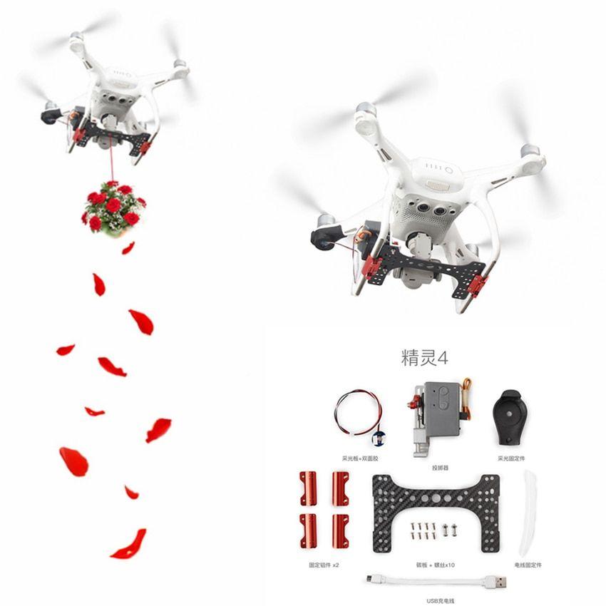 Thrower Set for DJI Phantom 4 Pro/ V2 0 Drone Upgrade