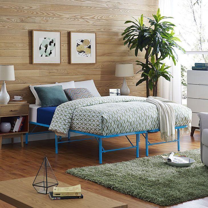 Orion Full Stainless Steel Bed Frame Steel Bed Frame Bed Frame