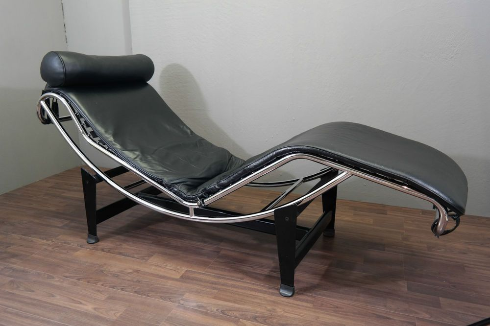 Corbusier Stoel Replica : Le corbusier lc lounge chair replica bauhaus vintage retro