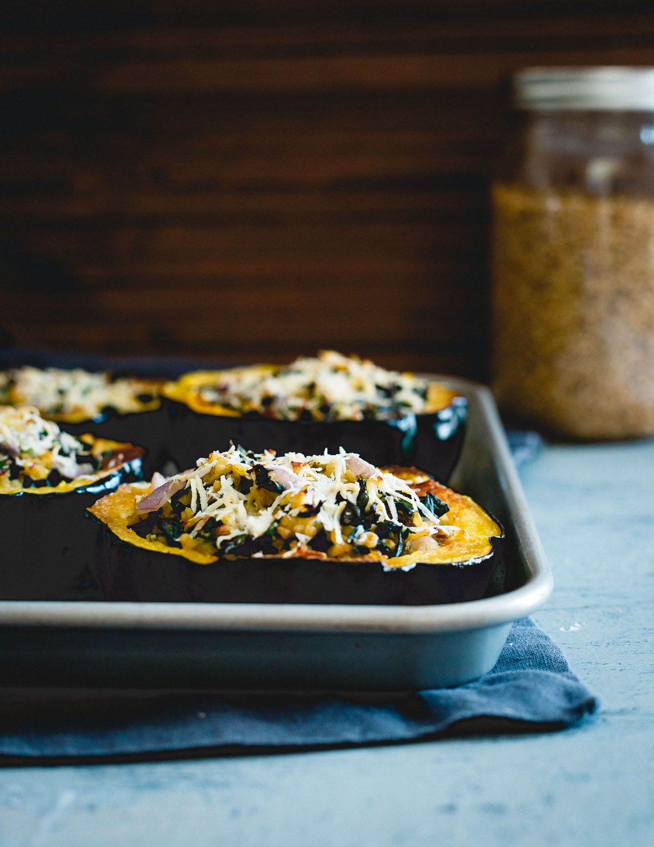 These Twice Baked Acorn Squash Are A Lovely Hearty Fall Dish