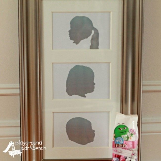 My Sweet Story - How to Make Silhouette Portraits with My MMS