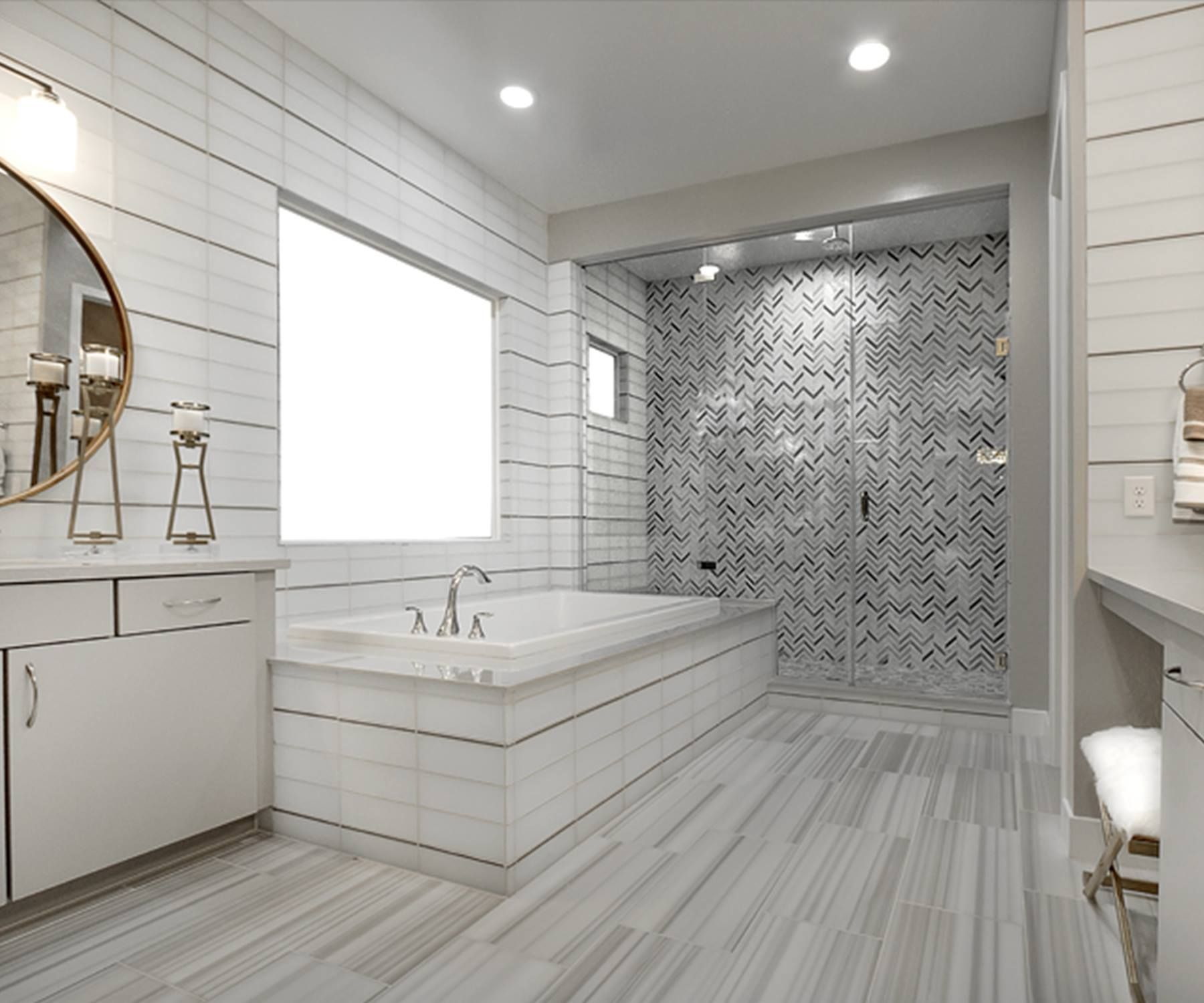 Do You Like The STYLE Of This Shower TILE?!