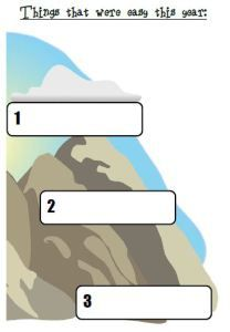 Easy mountain