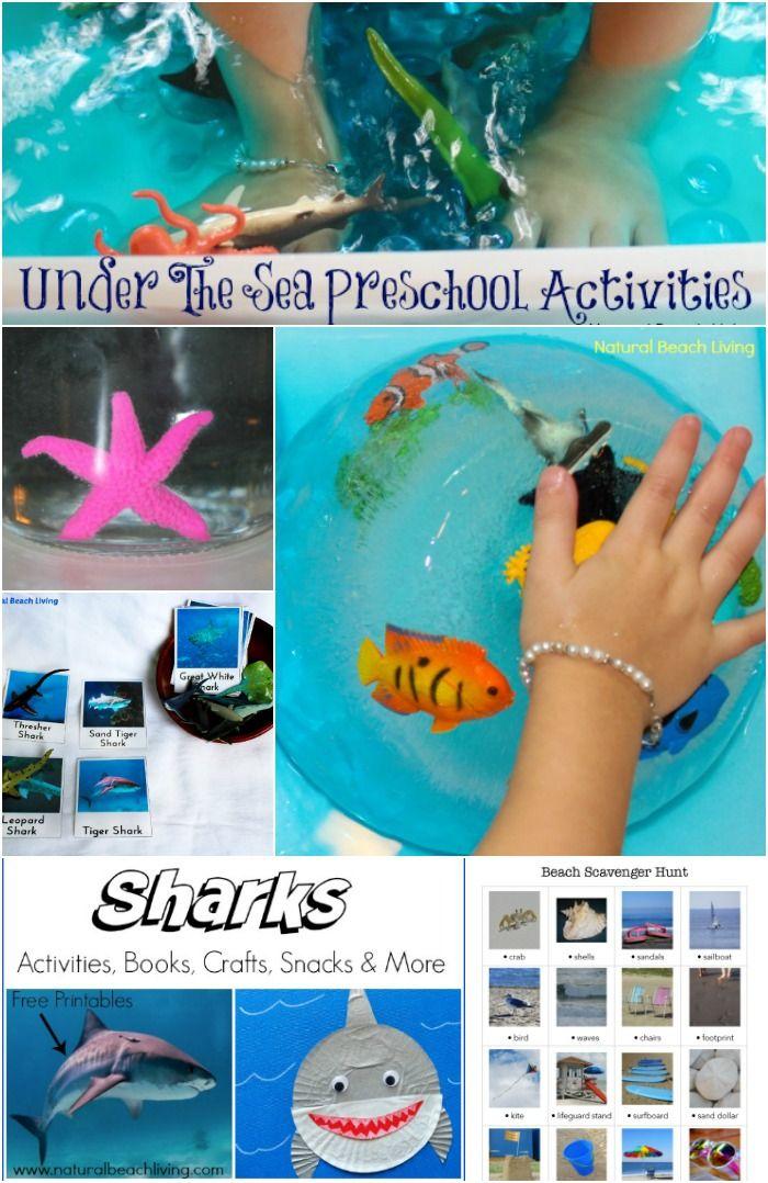 Under The Sea Activities Sea Activities Preschool Themes Preschool Activities Free ocean activities for preschoolers