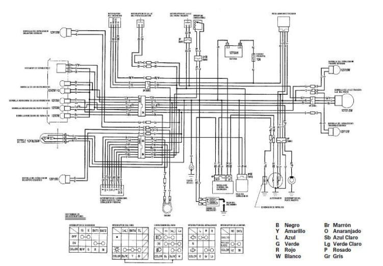 Yamaha Ybr 125 Wiring Diagram  Rear Damper Rubber For