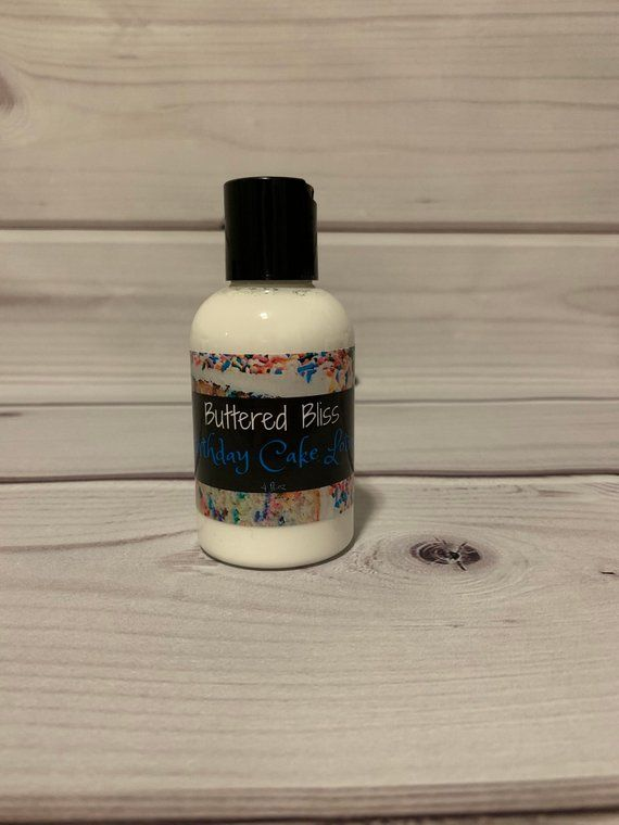 Lotion Birthday Cake Scent Natural Shea Butter Eczema Hand