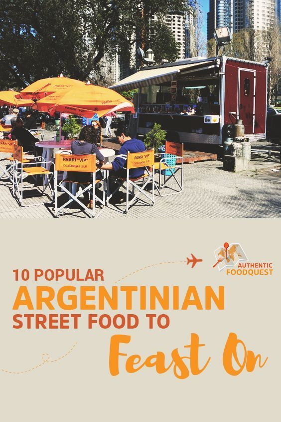 Here are 10 delicious and authentic street foods not to miss in Argentina. Enjoy!!