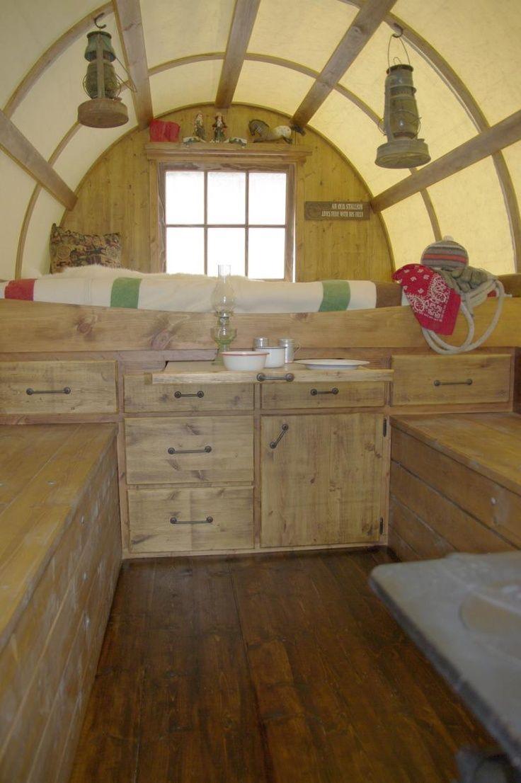 Pin On Sheep Wagon Tiny Houses