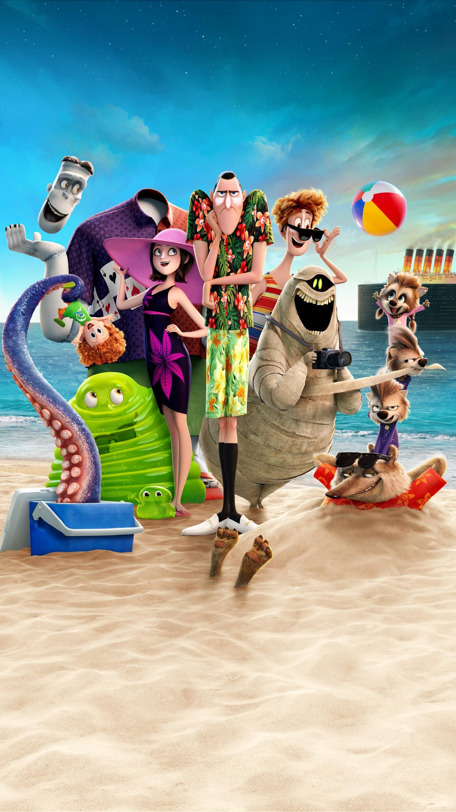 Hotel Transylvania 3 Summer Vacation (2018) Phone