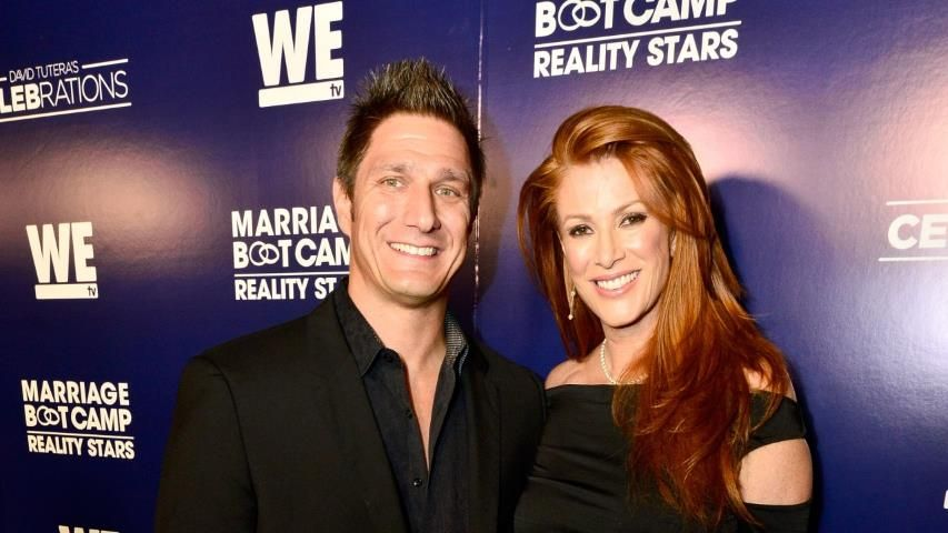 Angie everhart files for divorce from husband carl ferro