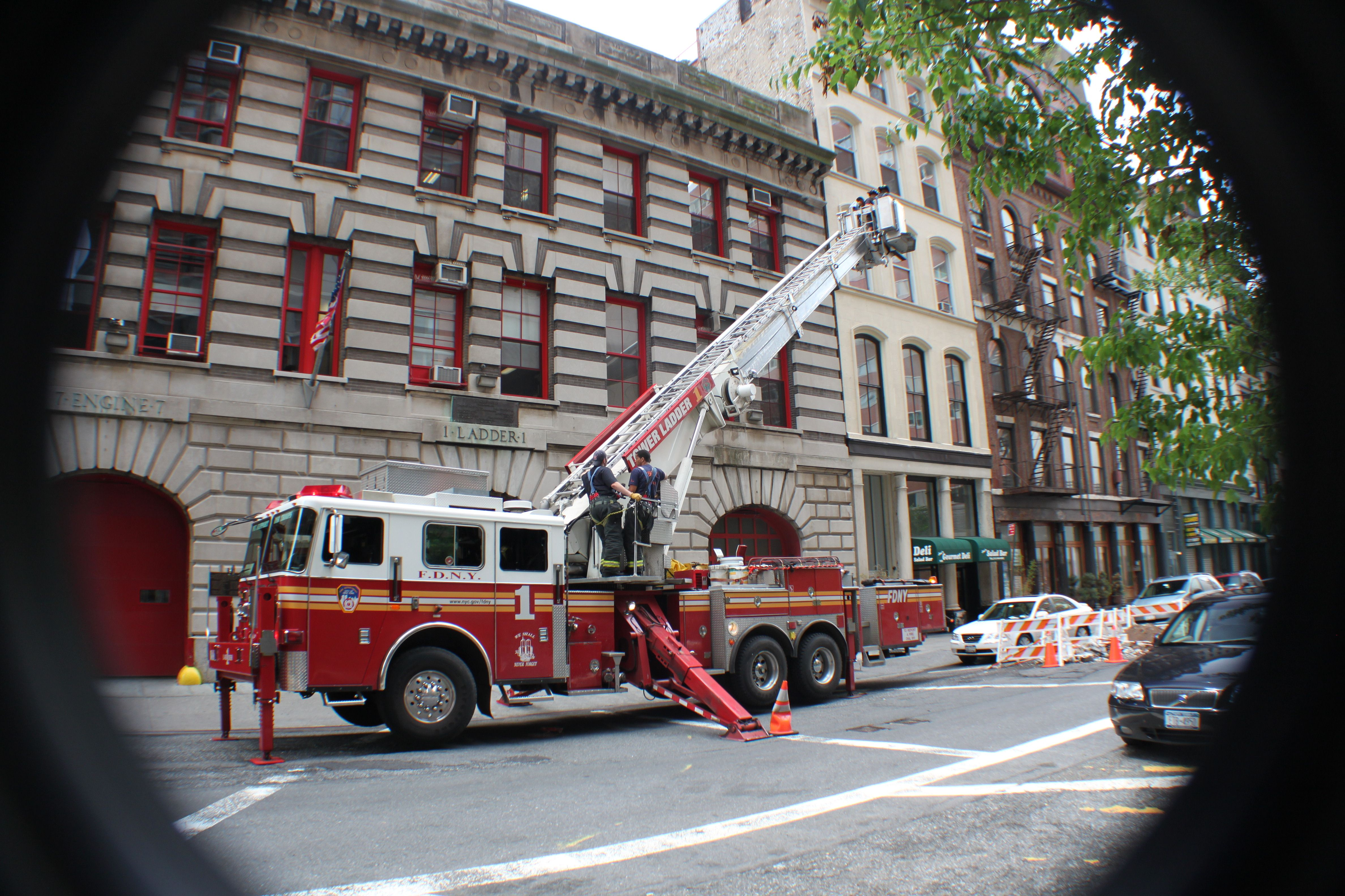 New York Fire Fighters  by T.C.