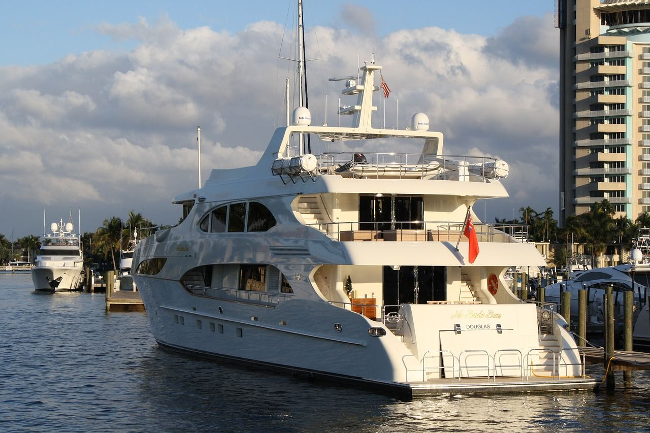 Boat yacht dock luxury travel vacation boat yacht