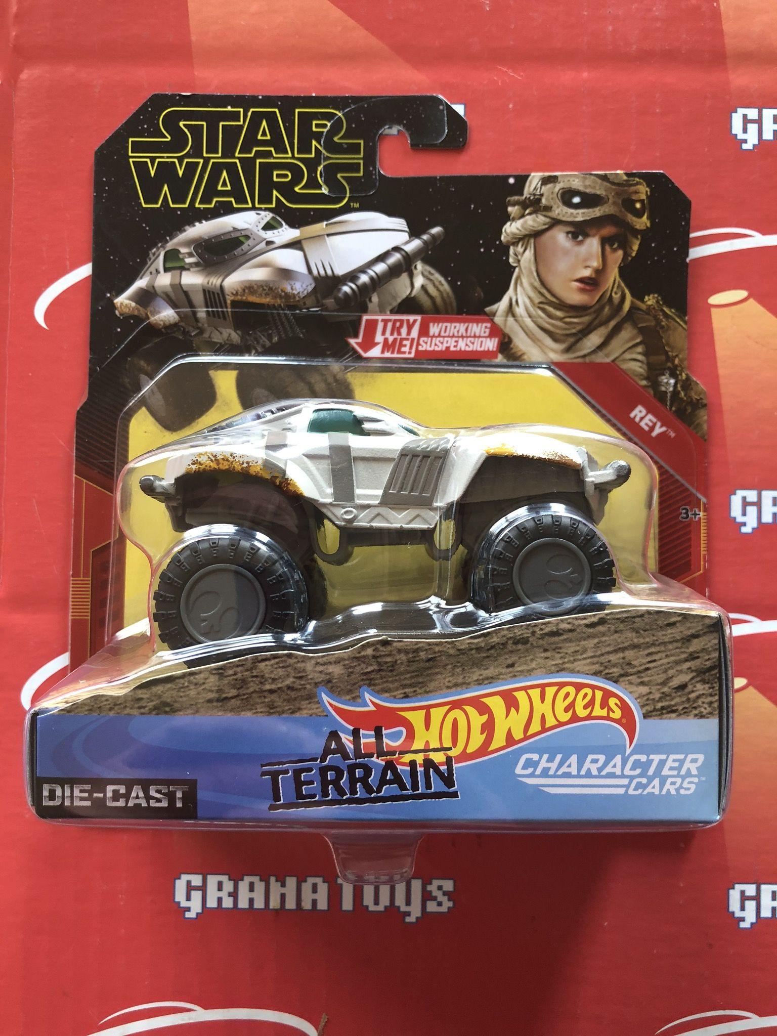 Rey 2019 Hot Wheels Star Wars Rise Of Skywalker All Terrain Character Cars Mix A Grana Toys Hot Wheels Character Star Wars