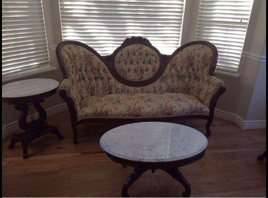 Victorian style couch, chair and tables  http://www.ksl.com/?nid=218&ad=34032250&cat=43&lpid=6&search=&ad_cid=41