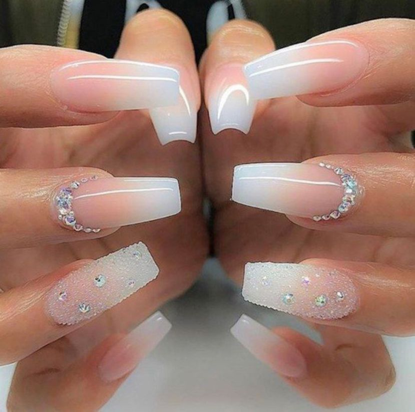 Cute Long Coffin Nails For Perfect Women Style 2019 16 Nails