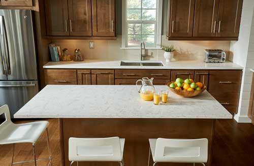 Viatera Clarino L Quartz Countertop Kitchen Remodel Countertops