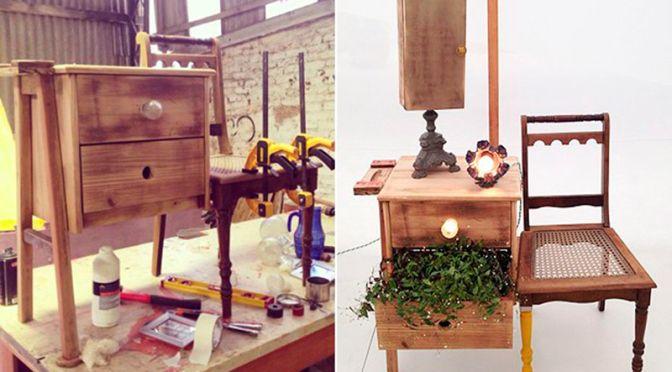 Design criativo  de móveis descartados - como designers estão transformando lixo em luxo! | #design #sustentabilidade #criatividade