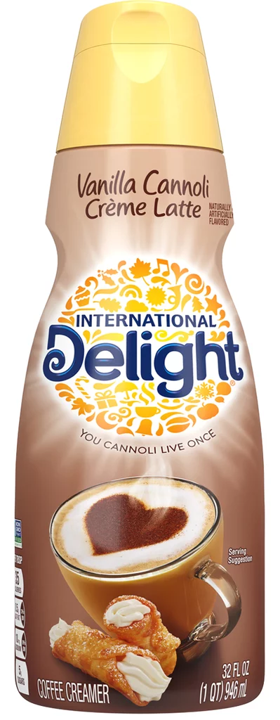 International Delight Vanilla Cannoli Créme Latte Coffee