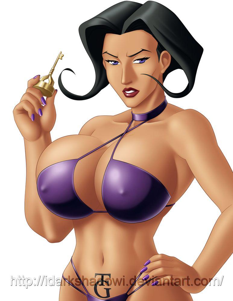 and bikini flux aeon