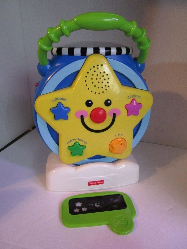 Fisher Price Select A Show Soother Projector W Musical