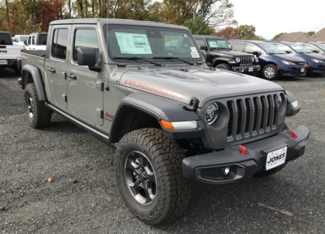 Onroad or off the new 2020 Jeep Gladiator Rubicon is