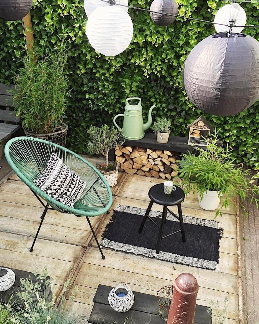 Green Outdoor Patio Inspiration