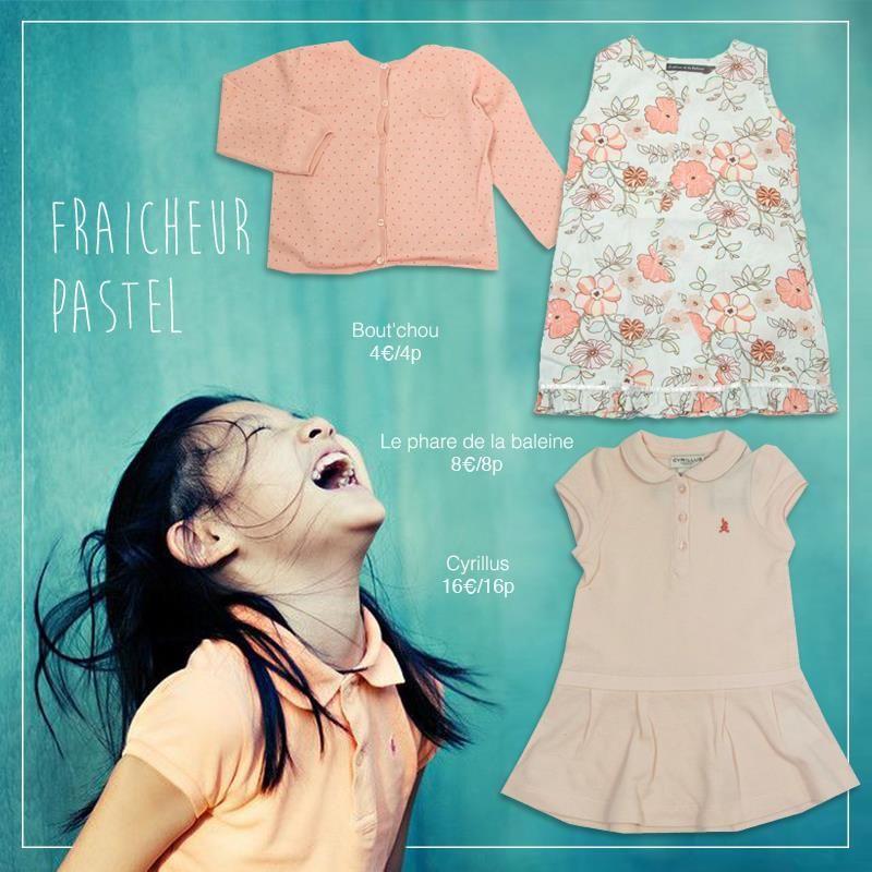 Adoptez le pastel pour cet été :) #troc #échange #vêtements
