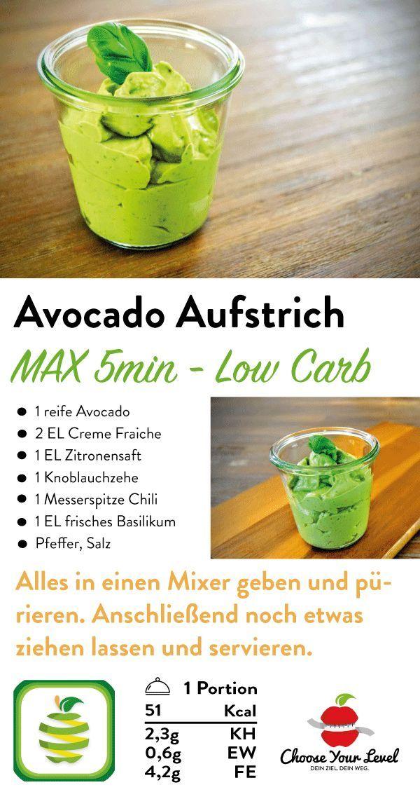 Avocado Aufstrich - Choose Your Level