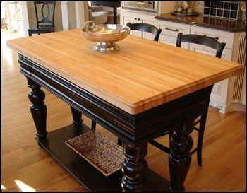 Tables, Custom Butcher Block Bar Tops U0026 Custom Butcher Block Islands