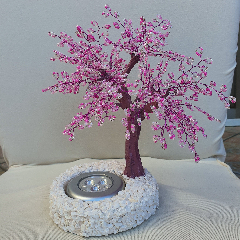 Cherry Blossom Centerpiece Cherry Blossom Tree Lamp Cherry Etsy Tree Lamp Cherry Blossom Tree Blossom Trees
