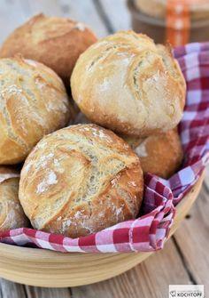 Brötchen nach der Salz-Hefe-Methode   - Brot und Brötchen -
