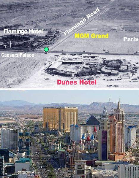 Las Vegas, Nevada 1954 vs 2009