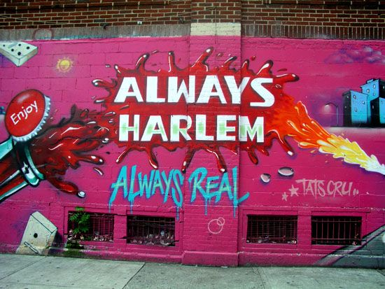 Always Harlem Harlem Street Art Graffiti Graffiti Art