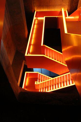 Amazing Yellow And Orange Neon Aesthetic Free