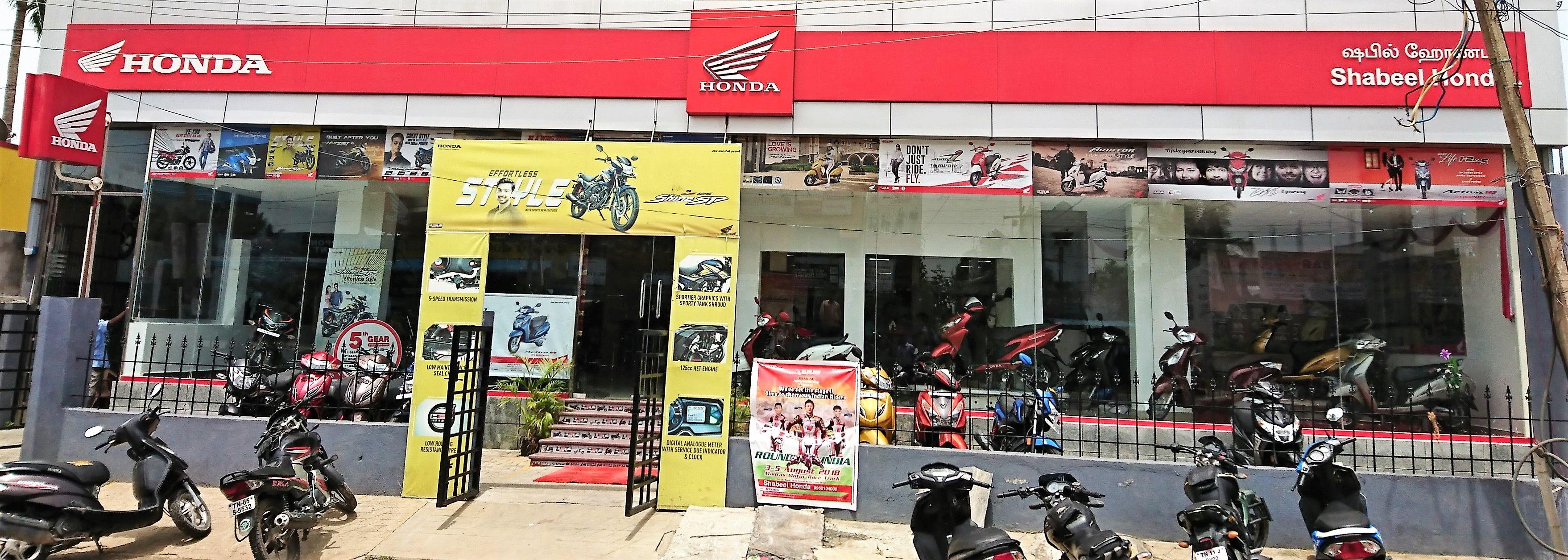 Honda bike service centre