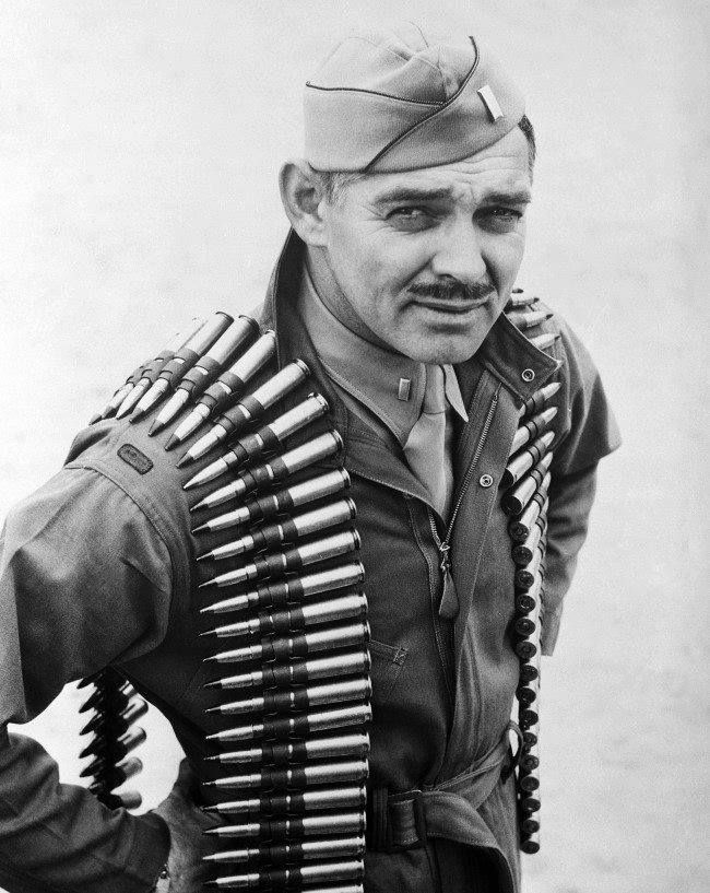 Image result for clark gable ww2