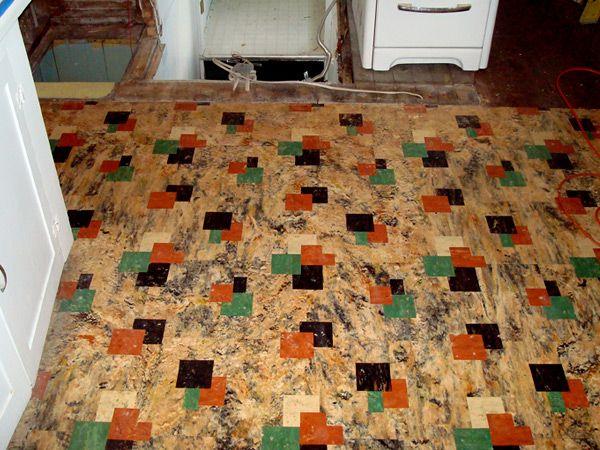 Linoleum It S Not Old School Anymore Modern Flooring Flooring Options Linoleum Kitchen Floors