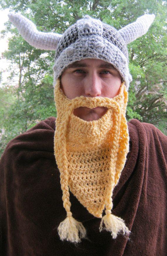 Pdf Crochet Pattern Volga Viking Hat Vikings Pdf And Crochet
