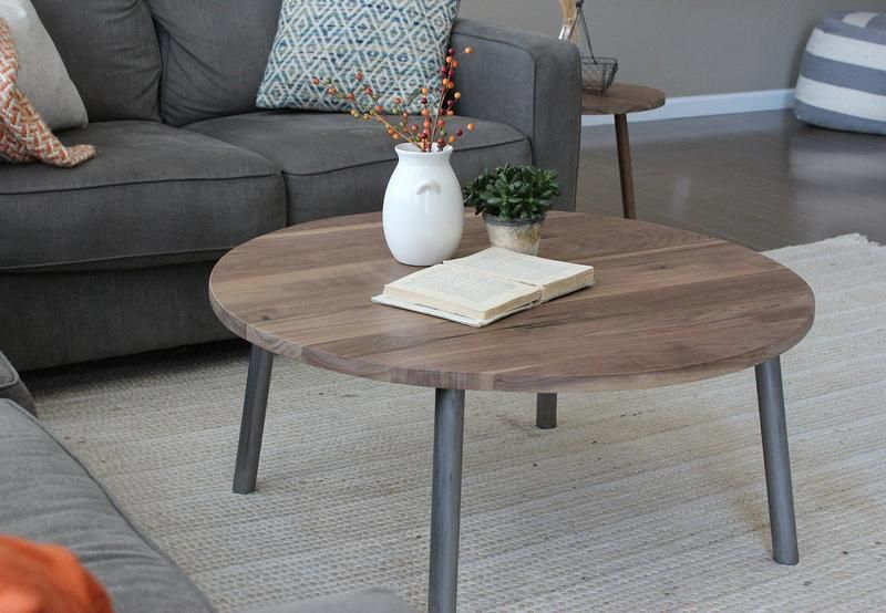42++ Wood and metal coffee table round ideas in 2021