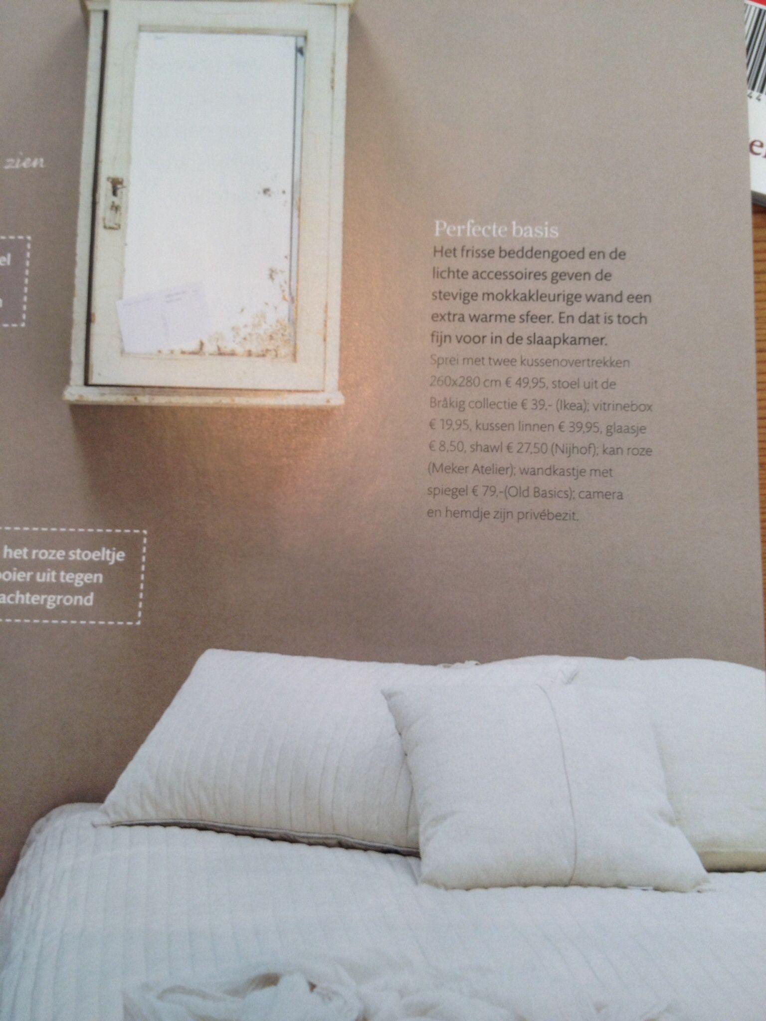 kleur muur slaapkamer mokka
