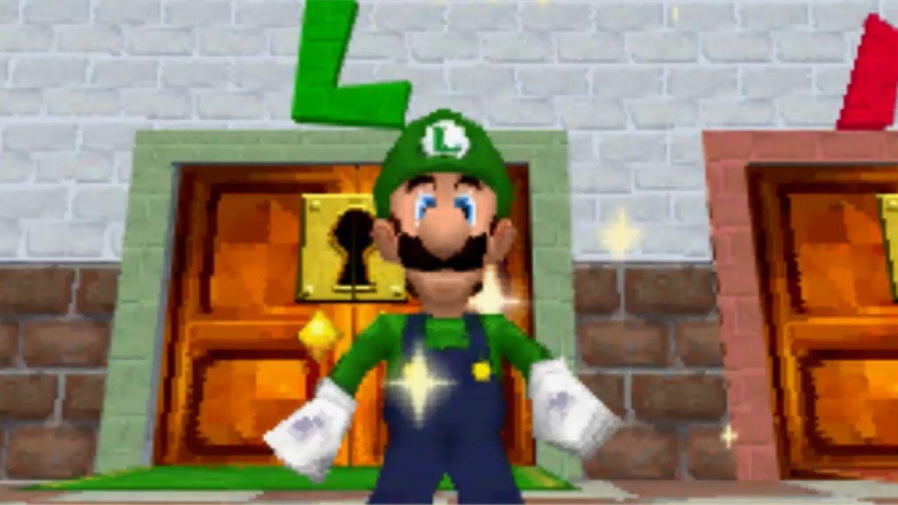 How To Get Luigi In Super Mario 64 N64