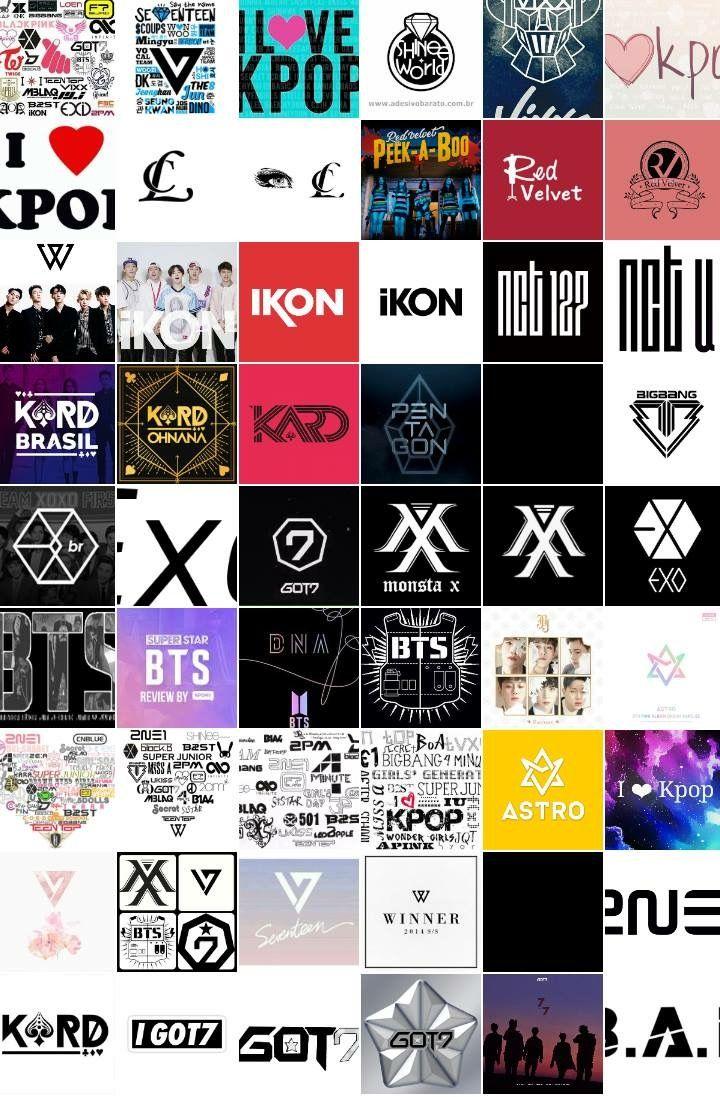 Kpop Logo Quiz : K❤rea, Wallpaper, Ponsel, Jenis, Huruf, Tulisan,, Ponsel,