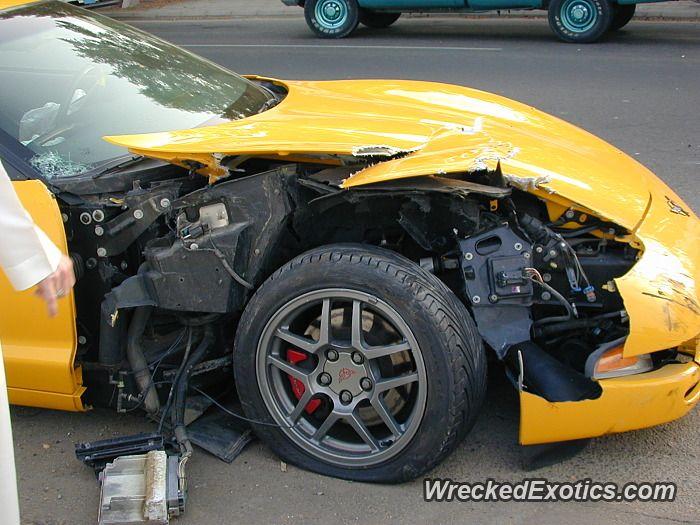 Chevrolet Corvette Z06 Crashed In Saudi Arabia Chevrolet Corvette Z06 Corvette Z06 Chevrolet Corvette