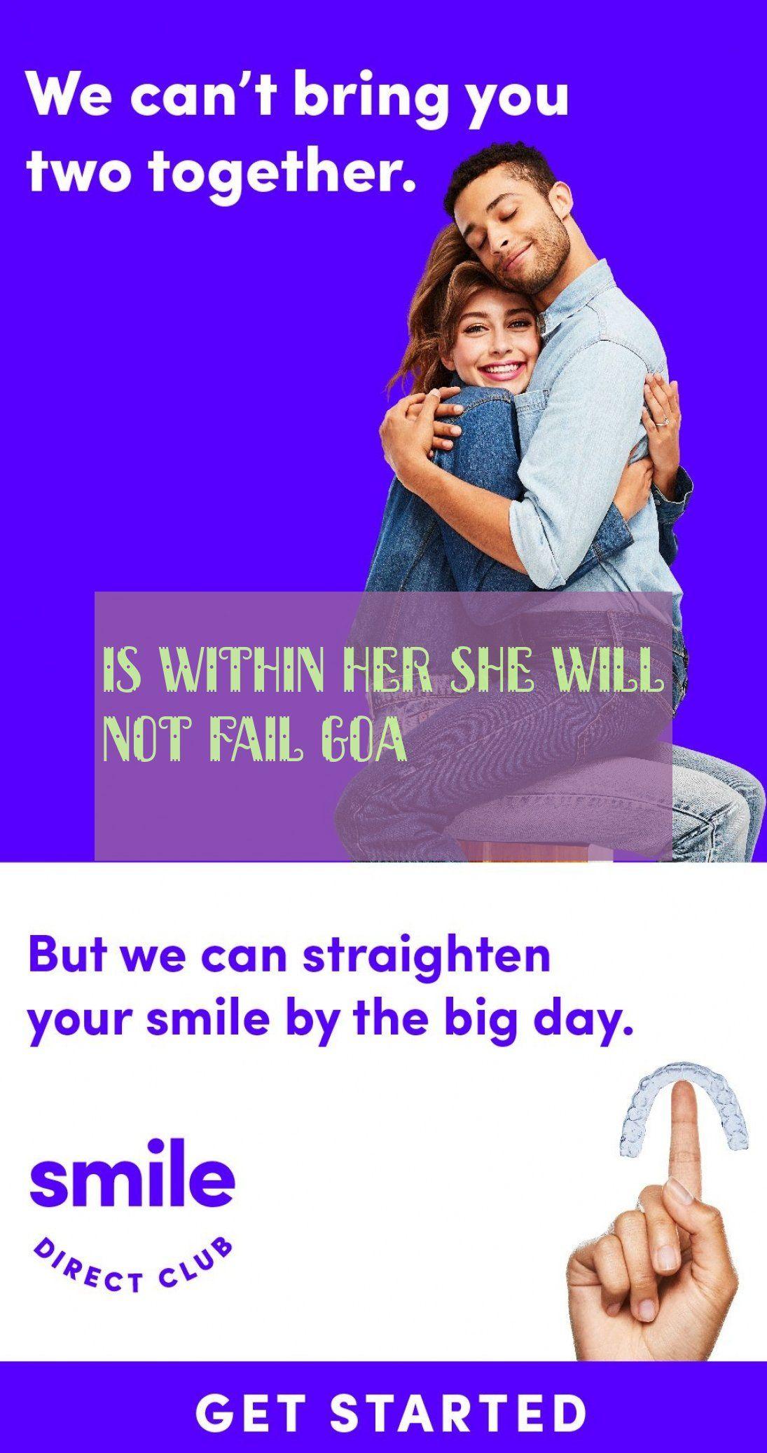 Is Within Her She Will Not Fail Goa Ist In Ihr Sie Wird Goa Nicht Scheitern