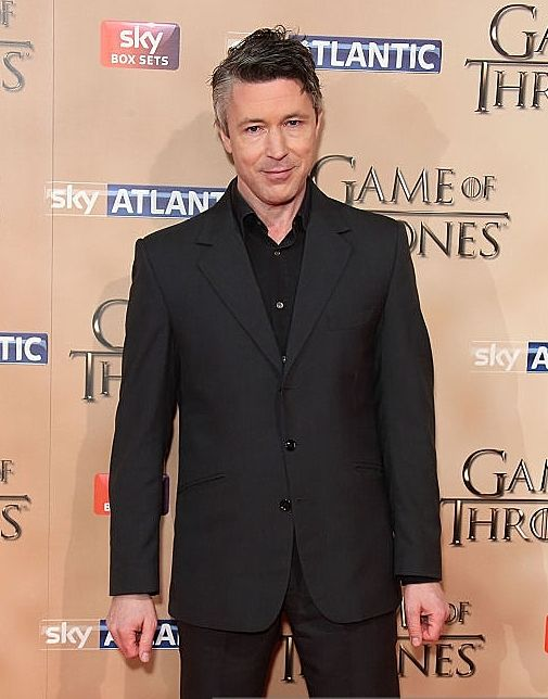 Aidan Gillen, Game of Thrones premiere, March 18th 2015.