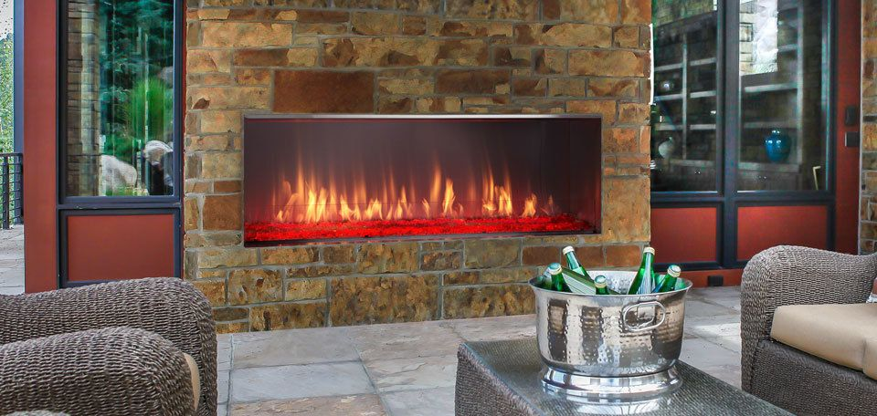 Majestic Lanai Gas Outdoor Fireplace 52 Ourfireplace Gas